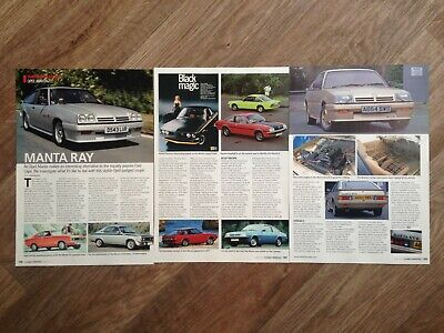 OPEL MANTA A, B, GT/E - Classic Buying Guide Article for sale  Shipping to South Africa