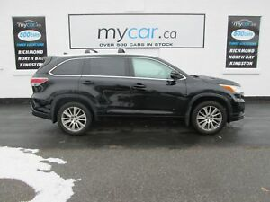 2015 Toyota Highlander XLE LEATHER, SUNROOF, NAV!! GREAT BUY!!