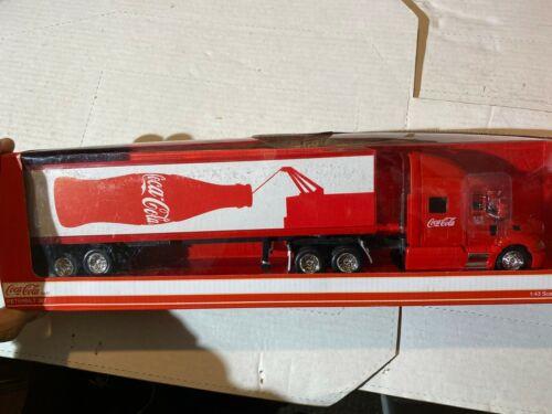 1:43 Coca-Cola Peterbuilt 387 with Trailer