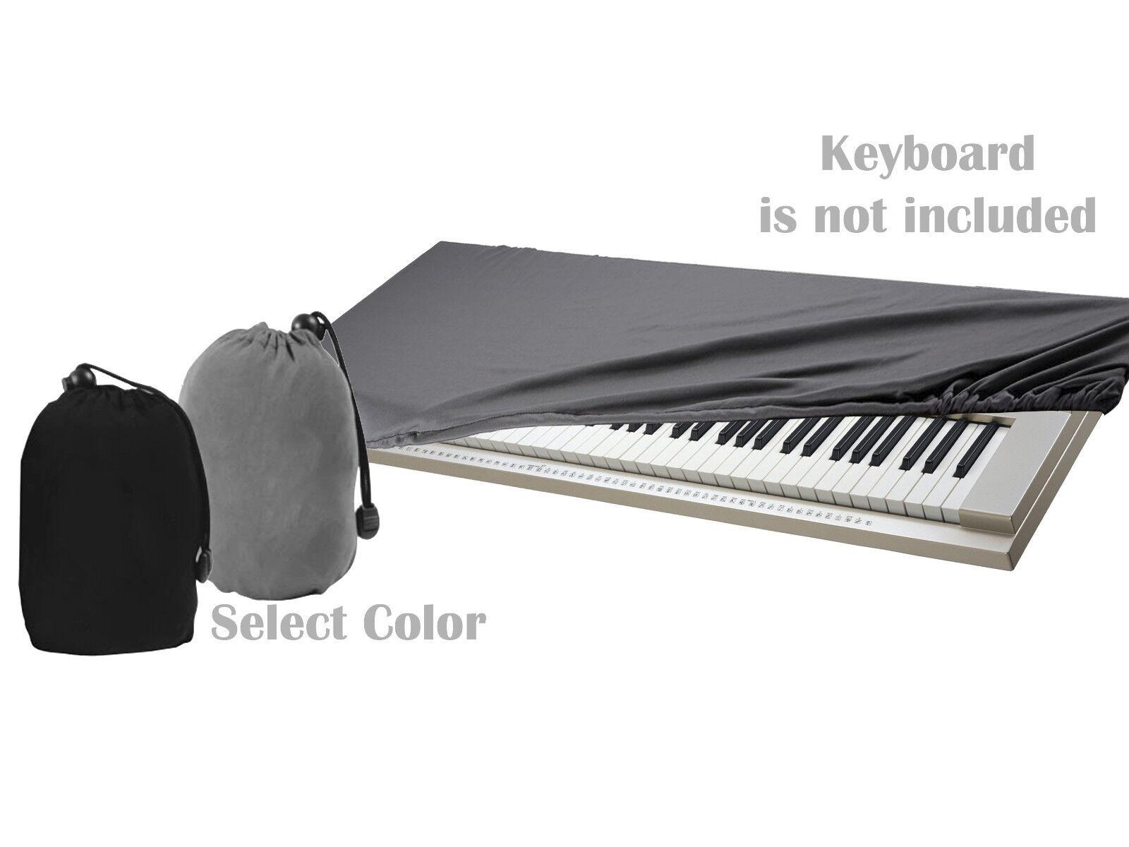 Adjustable Piano Dust Dirt Debris Protective Guard Cloth Top