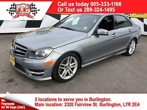 2014 Mercedes-Benz C-Class 300, Navigation, Leather, Sunroof, AW