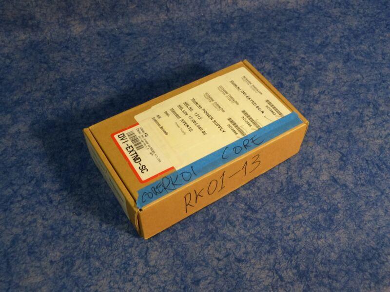 Evertz DVI-EXTND-SC Single Fiber DVI Extension Package