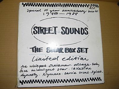The Solar Box Set -Street Sounds 8 x Rare White Label Test Pressings -Mint Vinyl