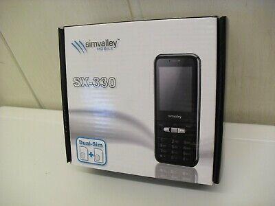 Neu! Dualband Handy simvalley SX-330 klein leicht mit langer Betriebs-Laufzeit