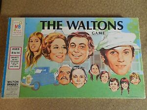Vintage THE WALTONS Board Game Complete 1974 Milton Bradley