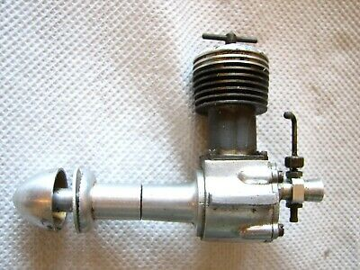 E.D. 3.46 MK 1V vintage model plane engine.