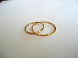 14K SOLID GOLD OVER THE KNUCKLE BAND OR THUMB RING HAND MADE IN U.S.SIZES 3-11