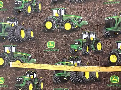 JOHN DEERE fabric TRACTOR Fabric PROVEN POWER CP58050 BTY NEW for sale  Shipping to India
