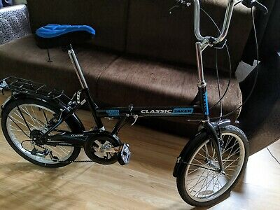 Classic Saker 6-Speed Folding Bike With 20-Inch Wheels - Black !!!BEST OFFER!!!
