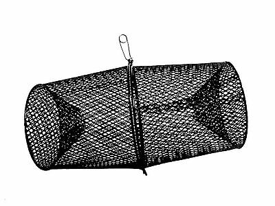 Frabill Torpedo Crawfish Trap | Heavy-Duty Steel Mesh | Available in Multiple...