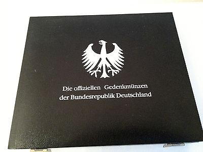 """Münzkassette """"Die offiziellen Gedenkmünzen der Bundesrepublik Deutschland"""""""