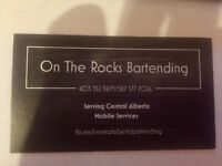 On the Rocks!!!!! Bartending mobil services
