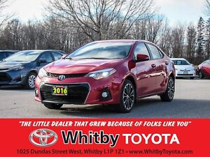 2016 Toyota Corolla S-TECHNOLOGY PACKAGE