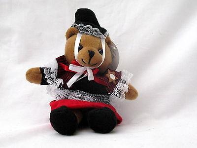 WELSH LADY SOUVENIR TEDDY BEAR,  Wales, Cymru