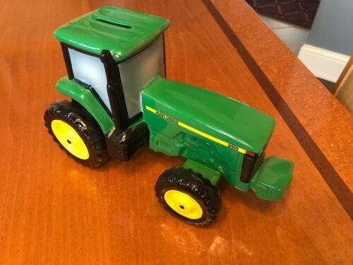 John Deere 8400 Tractor Ceramic Bank Enesco Licensed Product Orig Box Immaculate