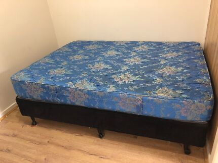 FREE QUEEN SIZED BED BASE AND MATTRESS!