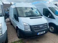 Ford Transit 2.2TDCi ( 125PS ) ( EU5 ) 280S Med Roof Van 280 MWB 2013/13.