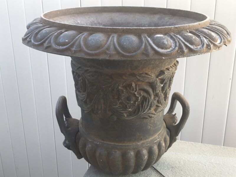 Antique French Cast Iron Lion