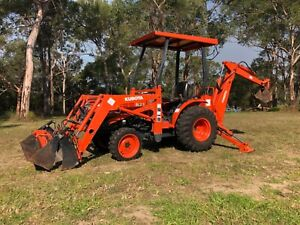 Kubota B17 Tractor Backhoe Glenorie The Hills District Preview