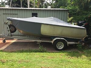 4.75 mako 2006 model with 70hp suzuki Leanyer Darwin City Preview
