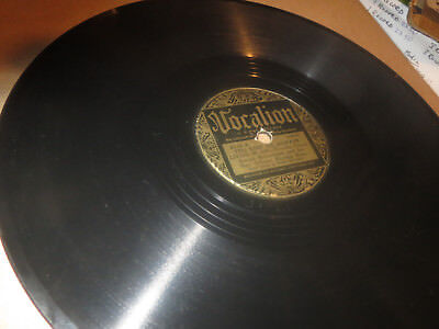 78RPM Vocalion 2545 Joesph Robechaux, Keep Me Living in Sin / Jig Music clean V