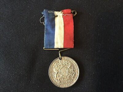 1911-'Our Beloved King & Queen' Coronation Souvenir Medal- George V & Queen Mary