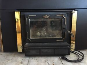 Wood Burning Fireplace Insert For Sale