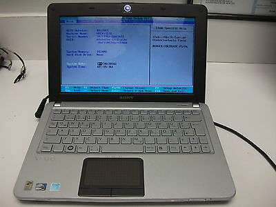 SONY VAIO VPCW11S1E  LAPTOP-NOT WORKING FOR PARTS OR REPAIR