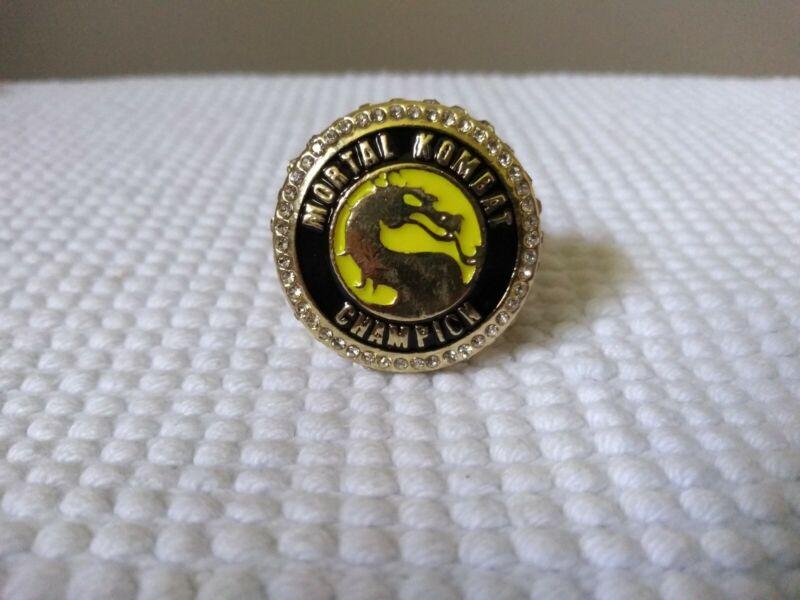 Rare Mortal Kombat  Movie Championship Display Fan Ring sz 11 ( scorpion)