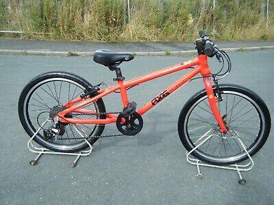 "boys girls frog 57 bike bicycle just had full serviced 20"" wheels"