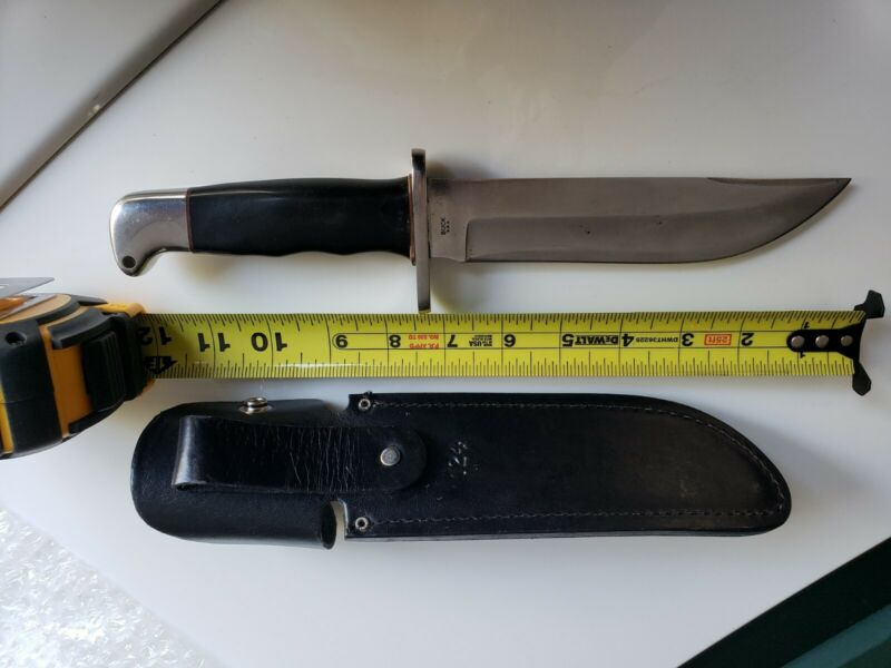 Super Rare Vintage Buck 122 Nemo Knife-brown spacers