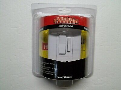 Heath Zenith Indoor Wall Switch SL-6017-WH5 - Brand New and Sealed Zenith Wireless Switch