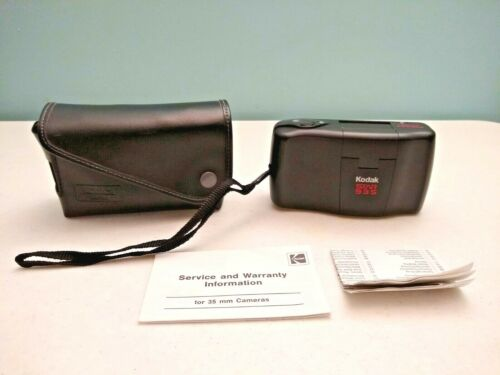 Vintage KODAK STAR 935 Autoflash 35mm f/4.5 Camera Ektanar Lens w/ Bag NICE