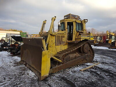 Caterpillar D6h Crawler Dozer Mint Uc Runs Exc 3306 Cat D6 Hi Track Bulldozer