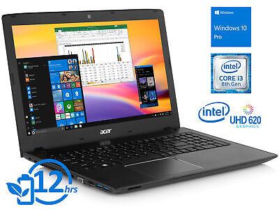 """Acer Aspire E 15 15.6"""" FHD Intel i3-8130U 8GB RAM 128GB SSD Wi-Fi BT Win 10 Pro"""