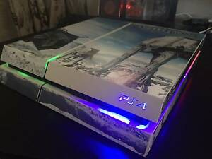 BLACK FRIDAY SALE PS4 500GB Console with remote controlled LED's Newcastle Newcastle Area Preview