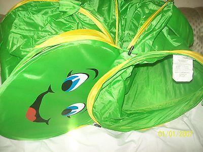 Green Gigatent Fred the Caterpillar Hide & Seek 6 Feet Play Tunnel-New + Storage