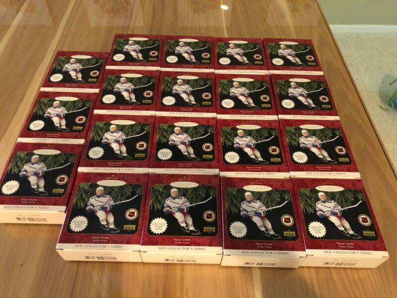 Six ornaments! Hallmark Keepsake Ornament Wayne Gretzky New York Rangers Hockey.