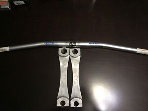 "Fly Aero Taper Bars and 9"" risers"