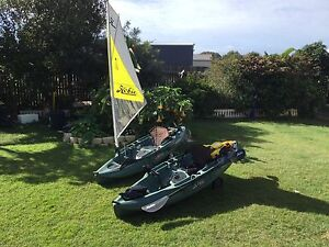 Hobie Sport Fisherman Kayaks Innes Park Bundaberg City Preview