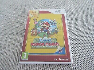 Wii super paper mario in doos