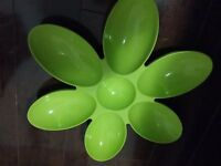 Party plate flower shape