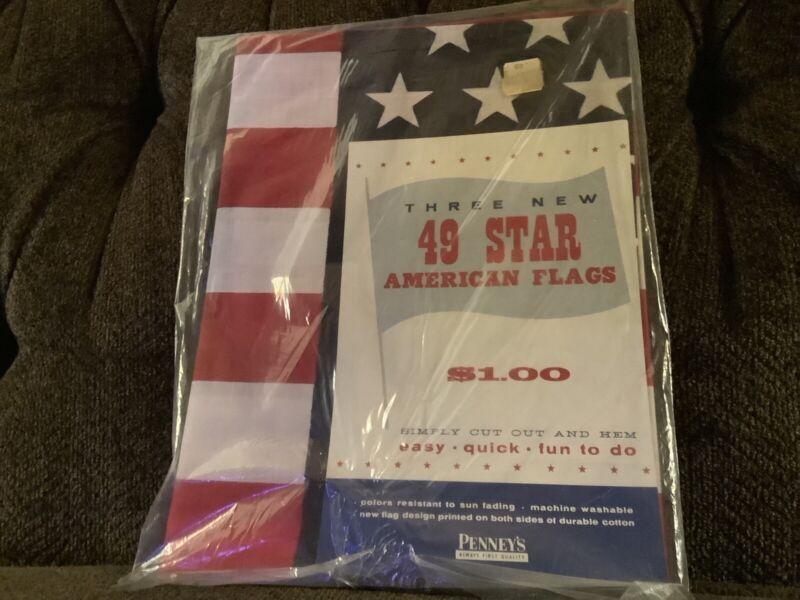 49 Star Flag J.C. Penney