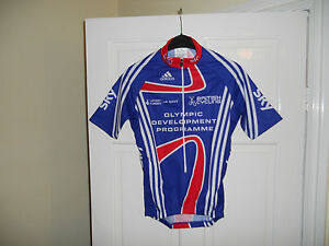 Team-GB-SKY-Olympic-development-Rider-Issue-cycling-bike-shirt-jersey-Adidas