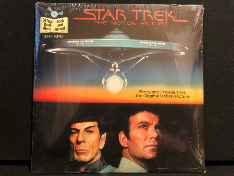 SEALED Star Trek Motion Picture Wrath of Khan Search for Spock record set Disney