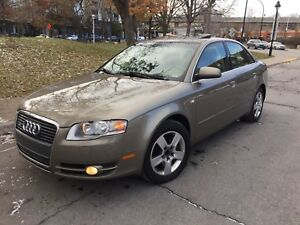 Very clean 2006 Audi A4 Quattro