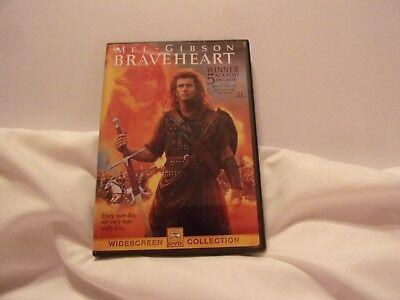 Braveheart (DVD, 1995, Widescreen) Mel Gibson,