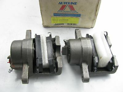REMAN. Autoline C429900 FRONT Disc Brake Caliper Set With Brake Pads