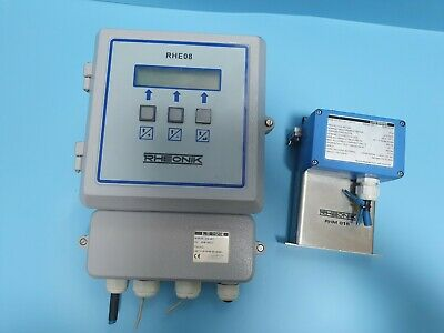 RHEONIK RHE08 + RHM015 GNT Mass Flowmeter Set