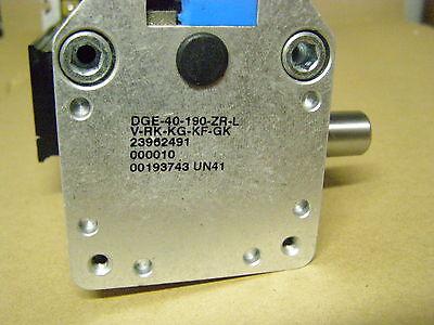 Dge-40-190-zr-lv-rk-kg-kf-gk  Festo Linear Actuator With Coupling